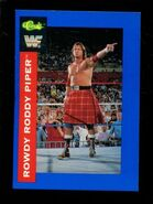 1991 WWF Classic Superstars Cards Rowdy Roddy Piper 98