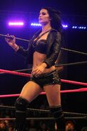 Paige on ring