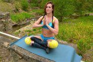 Ashley America in Meditation