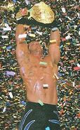 Benoit as the World Heavyweight Champion
