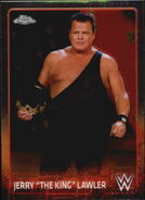 2015 Chrome WWE Wrestling Cards (Topps) Jerry Lawler 35