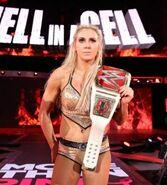 Charlotte 5th Raw Women's Champion