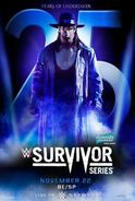 Survivor Series 2015 poster