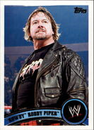 2011 WWE (Topps) Rowdy Roddy Piper 92
