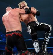 KANE chokeslam to Edge