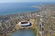 Nelson Mandela Stadium in Port Elizabeth