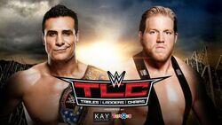TLC 2015 Del Rio v Swagger