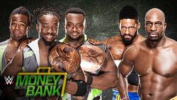 MITB 15 Tag Title Match
