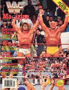 WWF Magazine February 1991