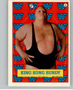 1987 WWF Wrestling Cards (Topps) Sticker King Kong Bundy 12