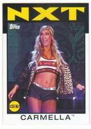 2016 WWE Heritage Wrestling Cards (Topps) Carmella 62
