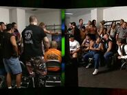 Summerslam 2001 locker room