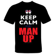 The Briscoes Keep Calm and Man Up T-Shirt