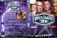 WWF Wrestlemania XXI - Cover