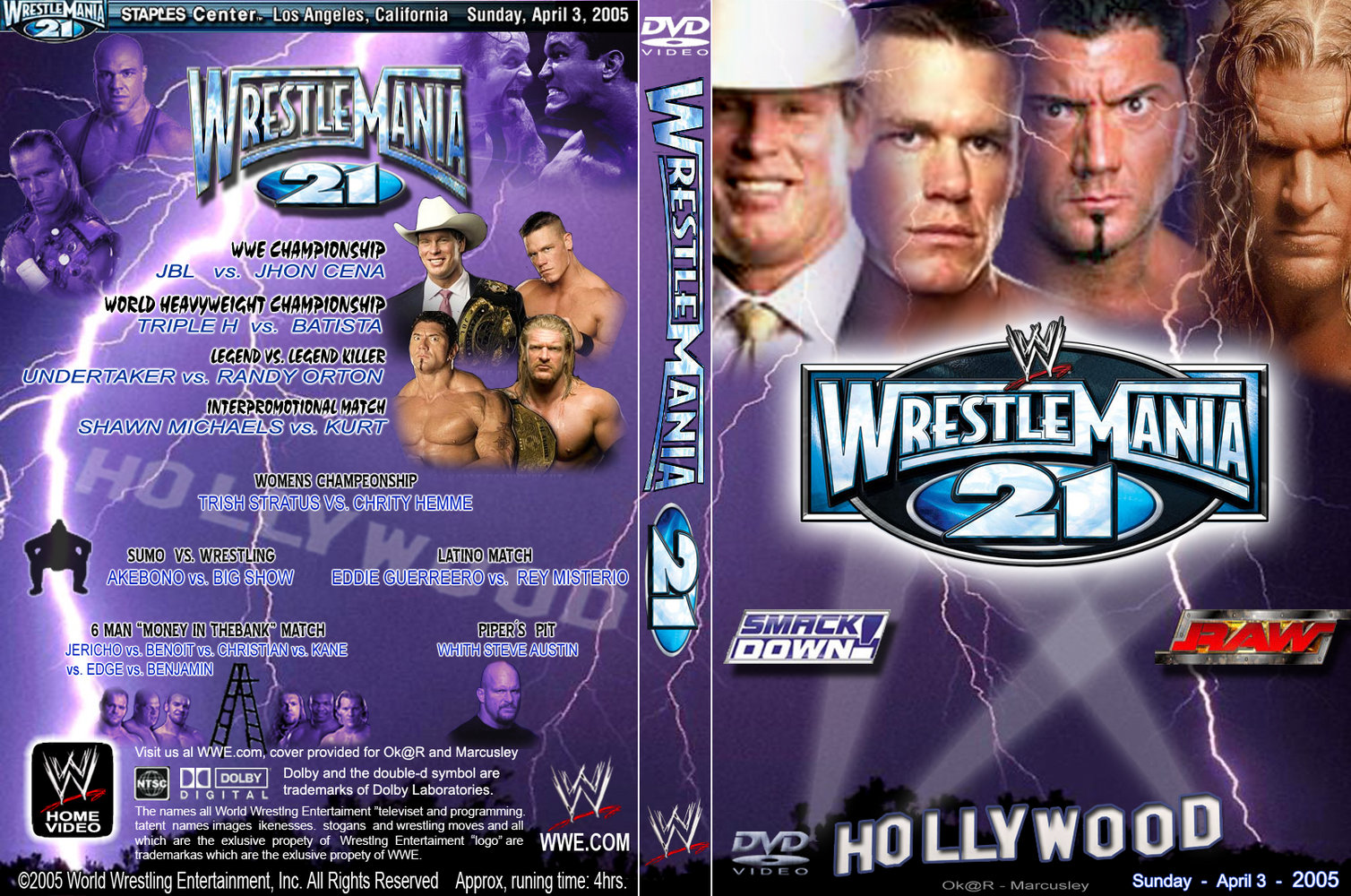 Undertaker Vs John Cena Wrestlemania 30 Wrestlemania I-XXX Ser...
