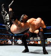 Kane chokeslam 2