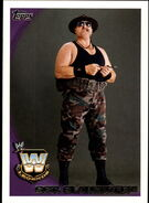 2010 WWE (Topps) Sgt. Slaughter (No.89)