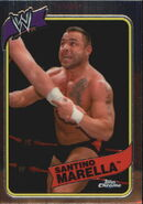 2008 WWE Heritage III Chrome Trading Cards Santino Marella 39