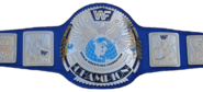 Block Logo Big Eagle WWF Championship