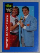 1991 WWF Classic Superstars Cards Rowdy Roddy Piper 87