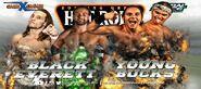 GFW Grand Slam Tour 2015 Day4 Black Everett vs Young Bucks