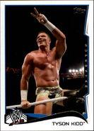 2014 WWE (Topps) Tyson Kidd 91