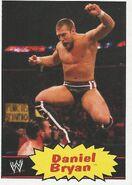 2012 WWE Heritage Trading Cards Daniel Bryan 15