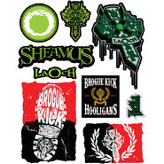 Sheamus Decals