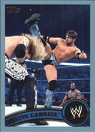 2011 WWE (Topps) Justin Gabriel 8
