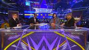 Josh Mathews, Booker T, Mick Foley & Shawn Michaels - WrestleMania 30 panelist team 2014