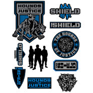 The Shield Decals