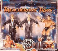 WWE Treacherous Trios 1 Triple H, Ric Flair, & Batista