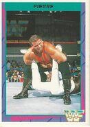 1995 WWF Wrestling Trading Cards (Merlin) PIerre 58