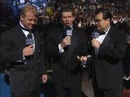 Vince McMahon, Jim Ross & Mr. Perfect