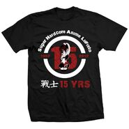 Lufisto 15th Anniversary T-shirt Dark Shirt