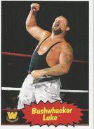 2012 WWE Heritage Trading Cards Bushwhacker Luke 67