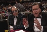 Gorilla Monsoon & Jim Ross