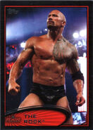 2012 WWE (Topps) The Rock 87