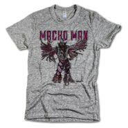 Randy Savage Macho Man Sketch by 500 Level T-Shirt