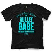 Amber O'Neal Bullet Babe Retro Guys Shirt
