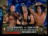 Goldberg vs Randy Orton