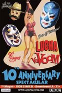 10th Anniversary Show Poster