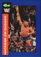 1991 WWF Classic Superstars Cards Hacksaw Jim Duggan 38