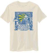 Lucha VaVoom Aztec Temple Shirt