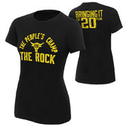 The Rock Bringing It For 20 Years Women's T-Shirt