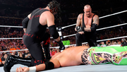 Taker and Kane after Tombstoning Hunico and Hawkins