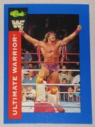 1991 WWF Classic Superstars Cards Ultimate Warrior 100