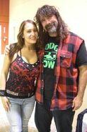Trina Michaels & Mick Foley