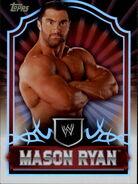 2011 Topps WWE Classic Wrestling Mason Ryan 44