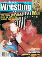 Sports Review Wrestling - October 1982
